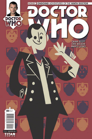 Doctor Who: New Adventures with the Ninth Doctor #8 (Question 6 Cover)