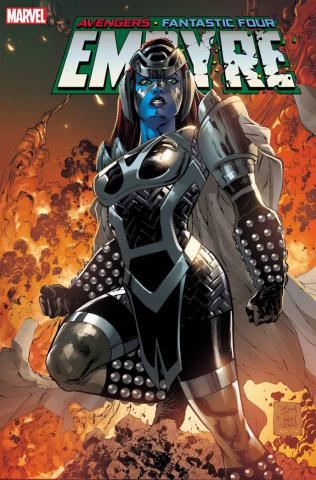 Empyre #2 (Daniel Skrull Kree Cover)