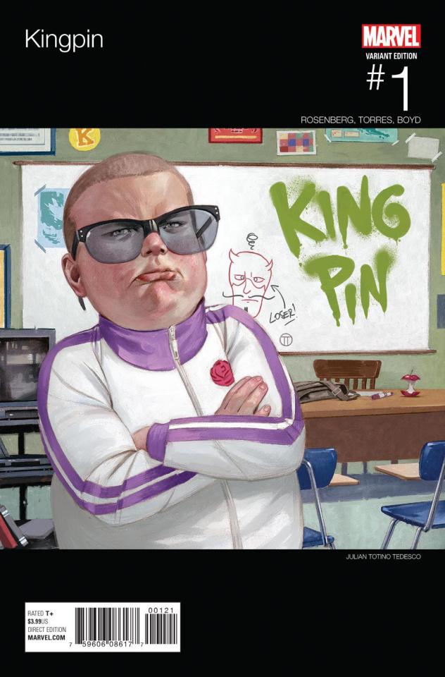 Kingpin #1 (Tedesco Hip Hop Cover)