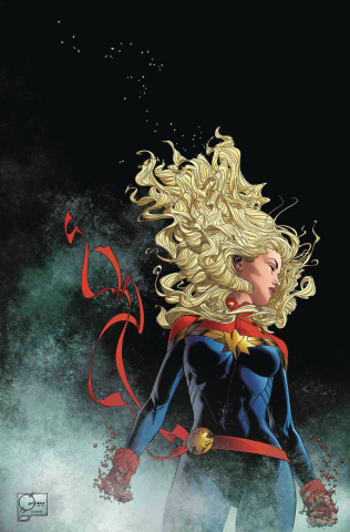 The Life of Captain Marvel #3 (Quesada Virgin Cover)
