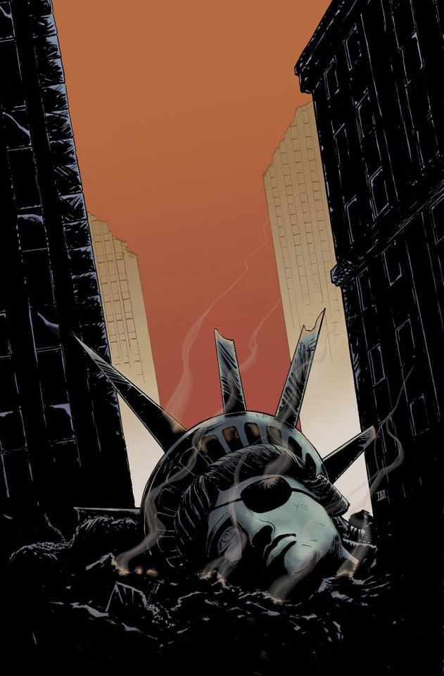 Escape From New York #12 (20 Copy Moustafa Cover)