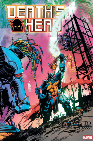 Death's Head #4 (McCrea Connecting Cover)