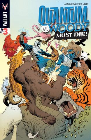 Quantum & Woody Must Die! #3 (Hawthorne Cover)