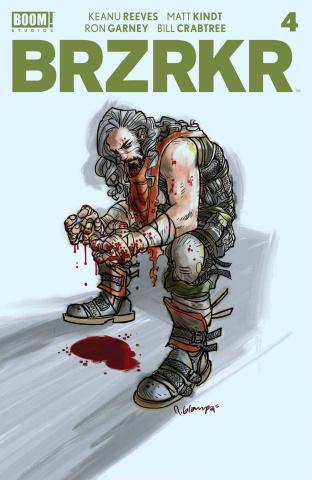 BRZRKR #4 (Grampa Cover)