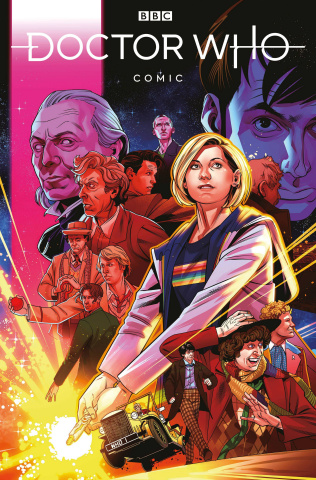 Doctor Who Comics #1 (Stott Cover)