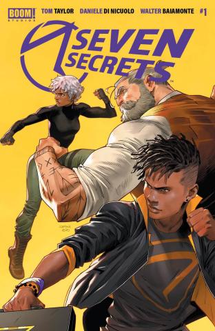 Seven Secrets #1 (2nd Printing)