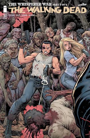 The Walking Dead #161 (Connecting Adams & Fairbairn Cover)