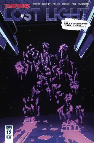 The Transformers: Lost Light #12 (Roche Cover)