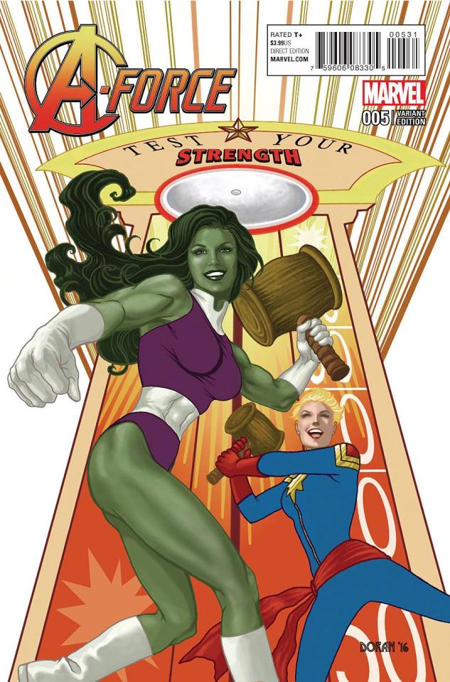A-Force #5 (Doran Classic Cover)
