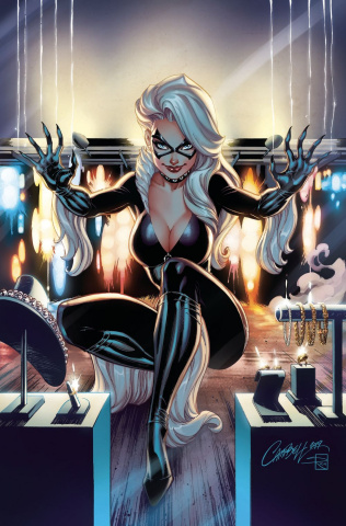 Black Cat #1 (JS Campbell Virgin Cover)