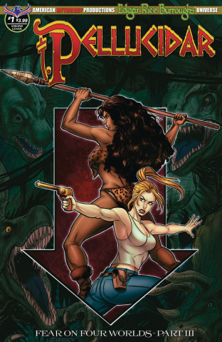 Pellucidar #1 (Mesarcia Depths of the Earth Cover)