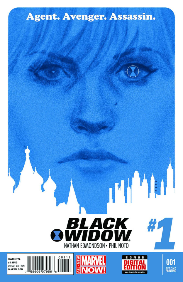 Black Widow #1 (2nd Printing)