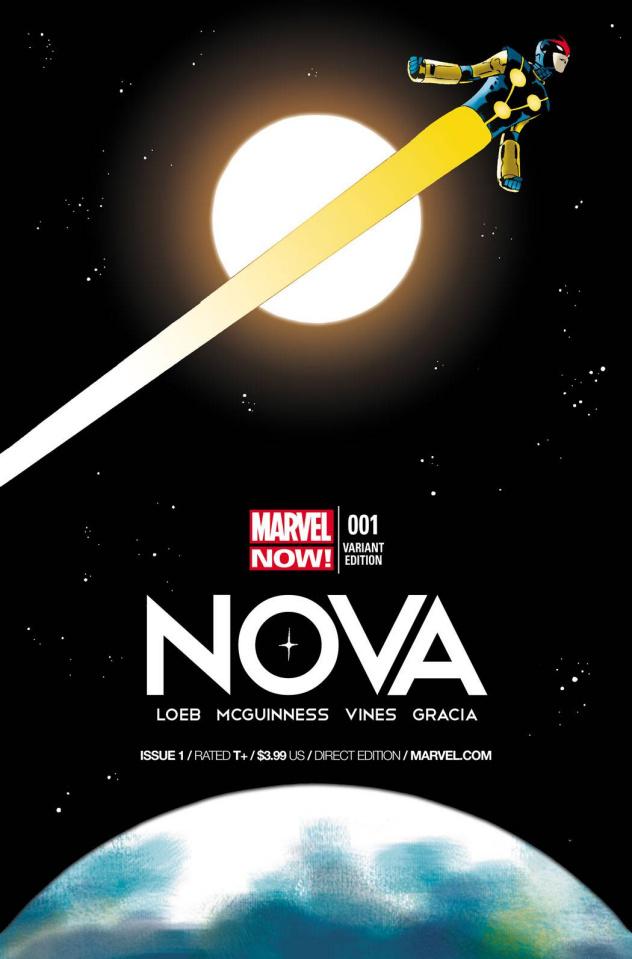 Nova #1 (Martin Cover)