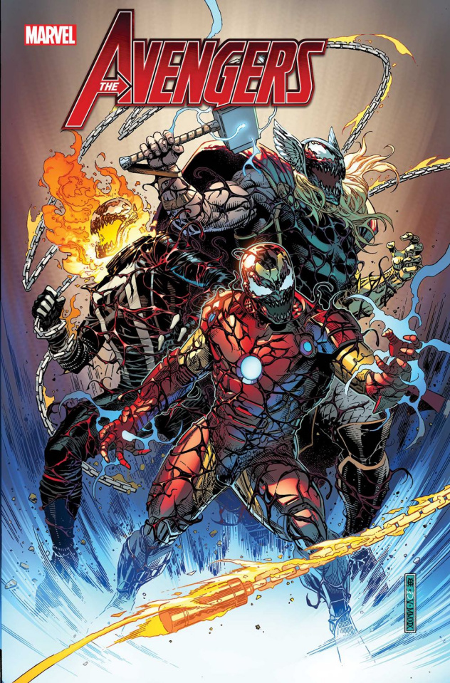 Avengers #21 (Cheung Carnage-ized Cover)