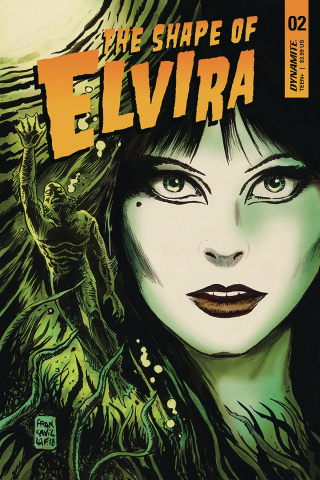 The Shape of Elvira #2 (Francavilla Cover)