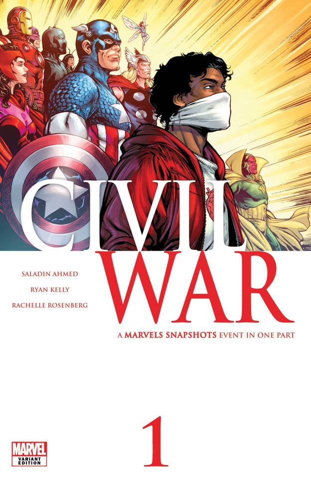 Marvels Snapshots: Civil War #1 (Kelly Cover)