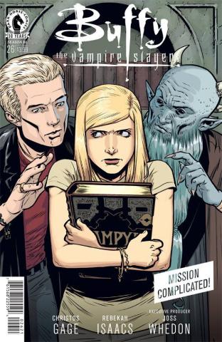 Buffy the Vampire Slayer, Season 10 #26 (Isaacs Cover)