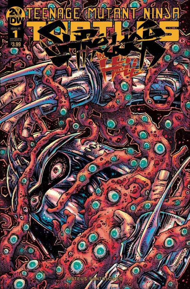 Teenage Mutant Ninja Turtles: Shredder in Hell #1 (Eastman Cover)