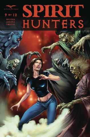 Spirit Hunters #9 (Luis Cover)