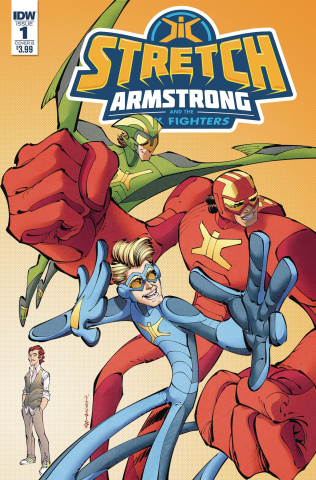 Stretch Armstrong and the Flex Fighters #1 (Koutsis Cover)