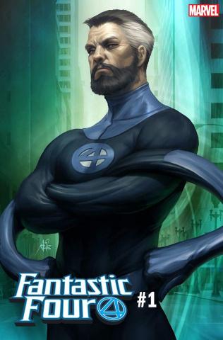 Fantastic Four #1 (Artgerm Mr. Fantastic Cover)