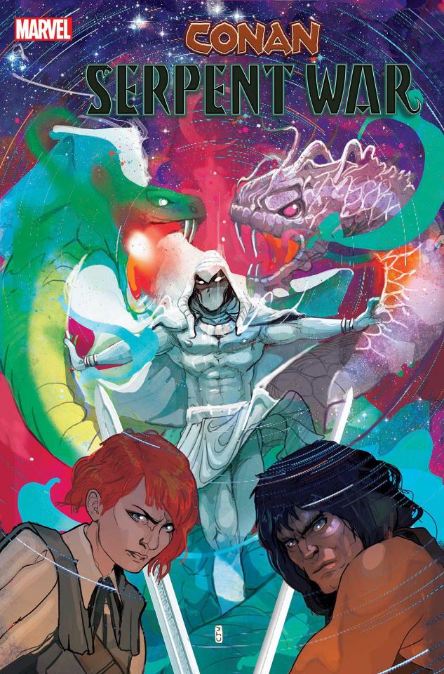 Conan: Serpent War #4 (Ward Cover)