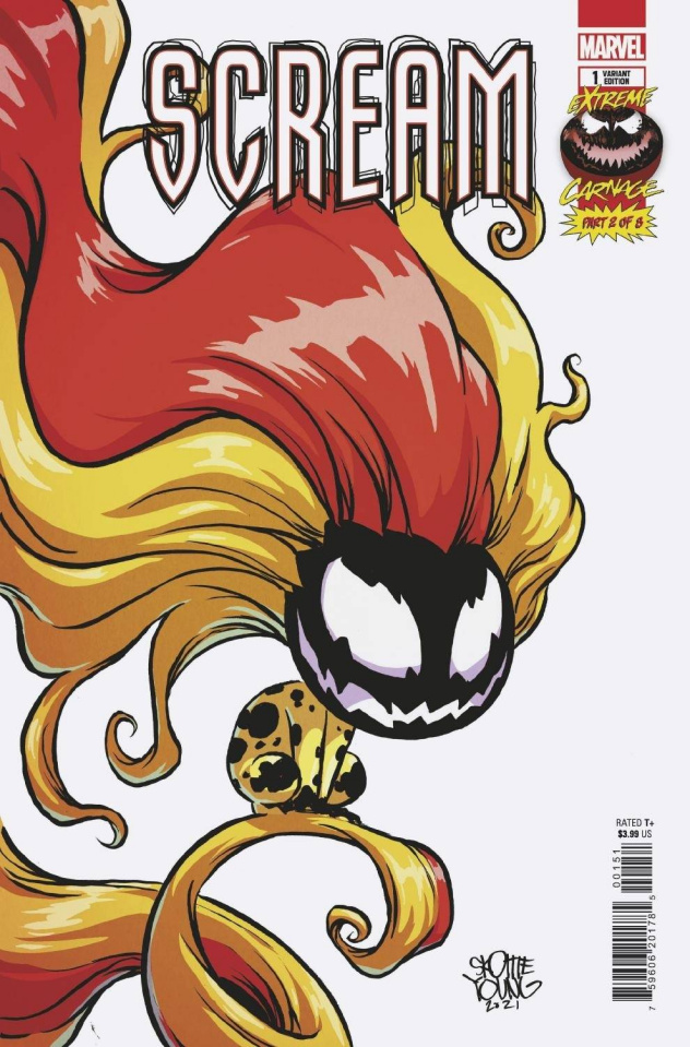Extreme Carnage: Scream #1 (Young Cover)