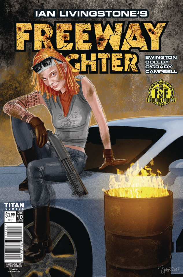 Freeway Fighter #2 (Myers Cover)