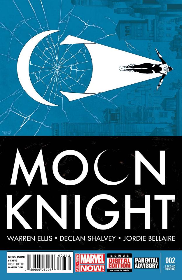 Moon Knight #2 (2nd Printing)