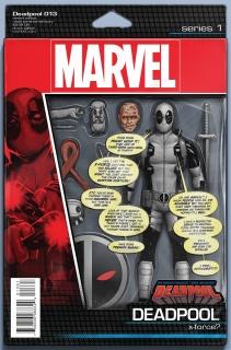 Deadpool #13 (Christopher Action Figure Cover)