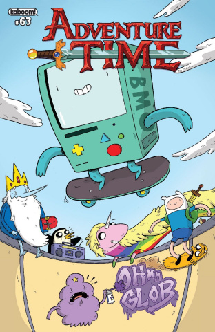 Adventure Time #63 (Subscription Naujokaitis Cover)