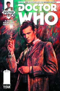 Doctor Who: New Adventures with the Eleventh Doctor #1 (Zhang Cover)