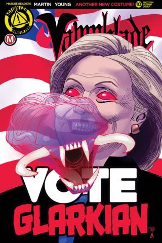 Vampblade #10 (Election Cover)