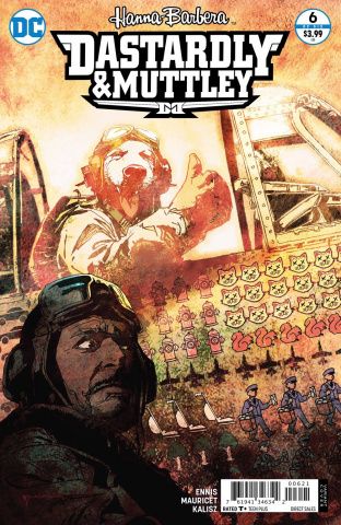 Dastardly and Muttley #6 (Variant Cover)