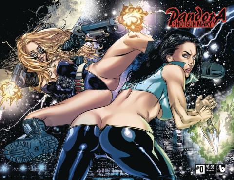 Pandora: Shotgun Mary #0 (Wrap Cover)