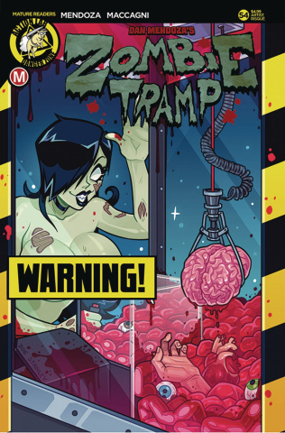 Zombie Tramp #54 (Stanley Risque Cover)