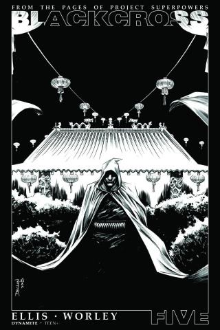Blackcross #5 (25 Copy Shalvey B&W Cover)