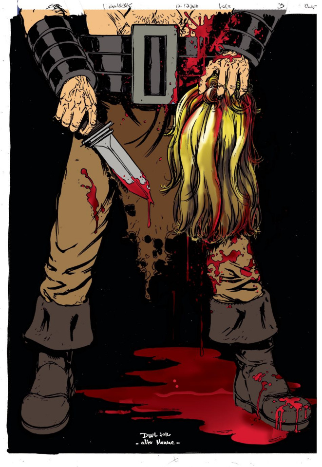 Lord of Gore #3 (Lesiter Cover)