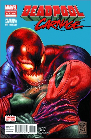 Deadpool vs. Carnage #1 (2nd Printing)