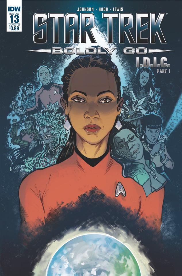 Star Trek: Boldly Go #13 (Ford Cover)