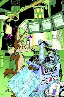 Cyborg #5 (Looney Tunes Cover)