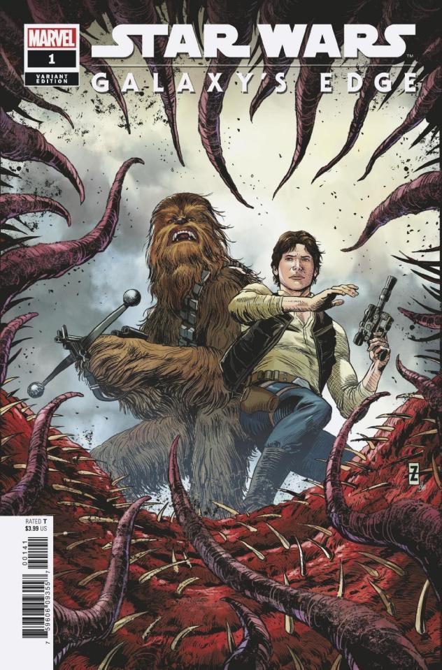 Star Wars: Galaxy's Edge #1 (Zircher Cover)