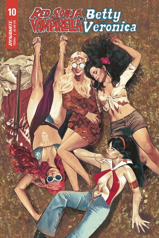 Red Sonja and Vampirella Meet Betty and Veronica #10 (Dalton Cover)