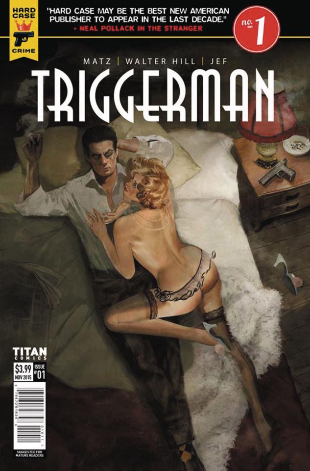 Hard Case Crime: Triggerman #1 (Dalton Cover)