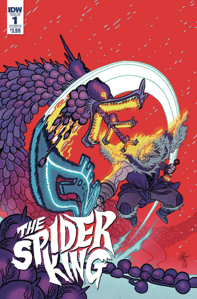 The Spider King #1 (Chan Cover)