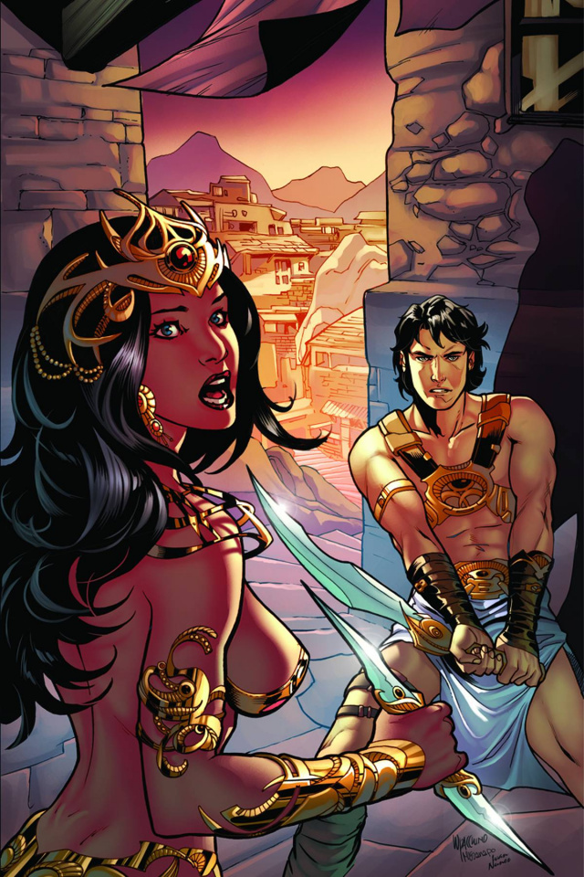 John Carter: Warlord of Mars #9 (30 Copy Lupacchino Cover)