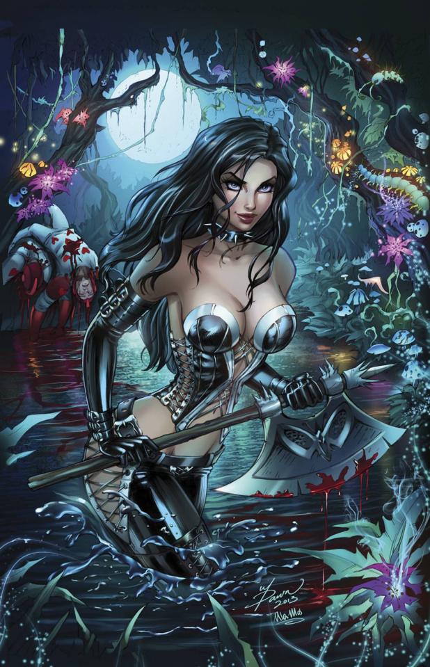 Grimm Fairy Tales: Wonderland #21 (McTeigue Cover)