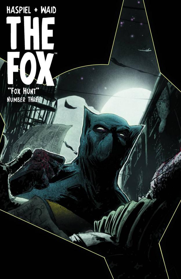 The Fox #3 (T.Rex Hunter & Prey Cover)