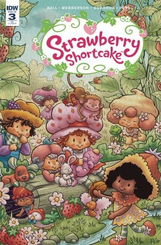 Strawberry Shortcake #3 (10 Copy Cover)