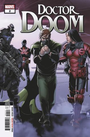 Doctor Doom #2 (Larroca 2nd Printing)